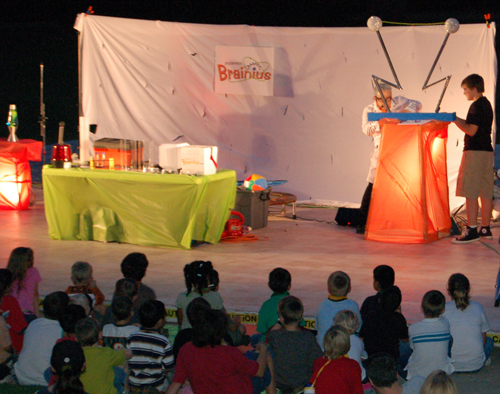 Educational and entertaining Science shows!